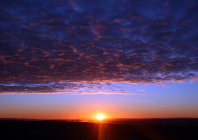 south gobi sunset